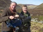 Martin with Ray Mears