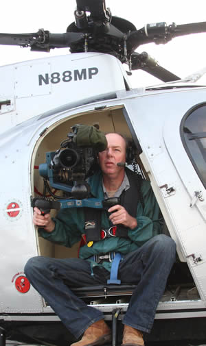 Martin has filmed all over the world and is experienced at getting the perfect footage