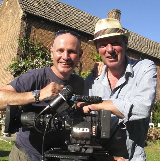BBC Presenter Mike Dilger and Martin Hayward Smith